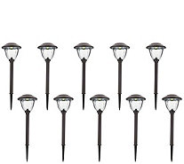 Energizer 10-Piece Solar Landscape Light Set - M51493
