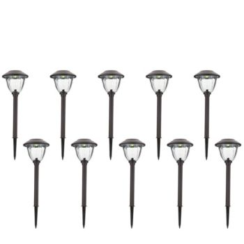 Energizer 10-Piece Solar Landscape Light Set