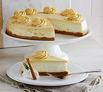 Ships 12/5 Junior's 5 lb. Pumpkin Pie Cheesecake - M52393