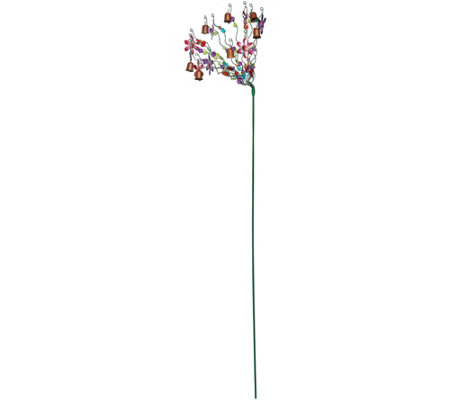 Ultimate Innovations Graceful Garden Beads & Bells Garden Stake