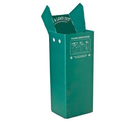 Leaf Amp Lawn Chute Leaf Bag Aid Qvc Com