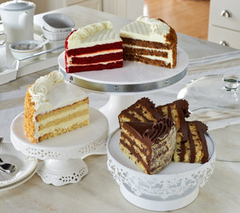 Junior's 5 lb. 4-Flavor Layer Cake Sampler - M53394