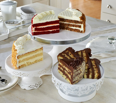 Junior's 5 lb. 4-Flavor Layer Cake Sampler