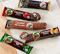 Ships 12/4 Oskri 20 Organic Choc. Covered Coconut Bar Assortment - M55294