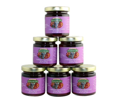 Colorado Mountain Jam (6) 5-oz Cabernet Sauvignon Wine Jelly