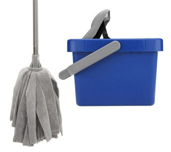 Don Aslett's Microfiber Mop and Bucket - M114595