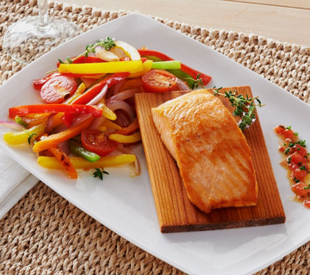 Ships 12/5 Egg Harbor (10) 6 oz. Cedar Plank Salmon Auto-Delivery