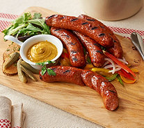 Bear Creek Smokehouse (16) 4 oz. Polish Sausage Links - M54695