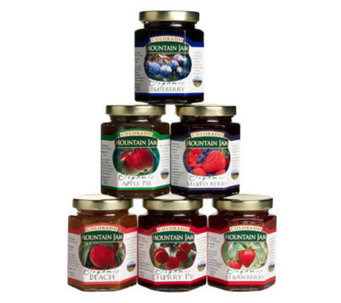Colorado Mountain Jam Certified Organic (6) 8-oz Jams - M112596