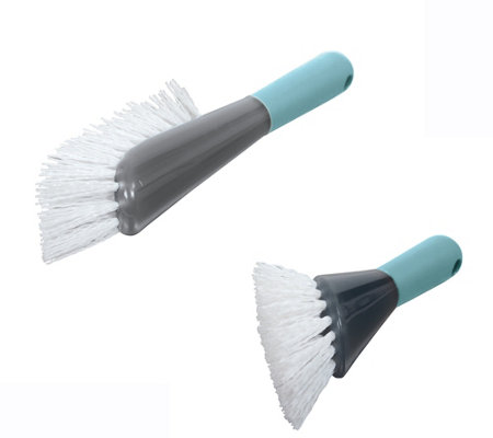 Casabella Smart Scrub Heavy-Duty Brush & DrainBrush Combo