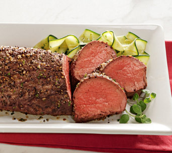 Kansas City Steak (2) 2-lb Traditional Rub Chateaubriand - M115496