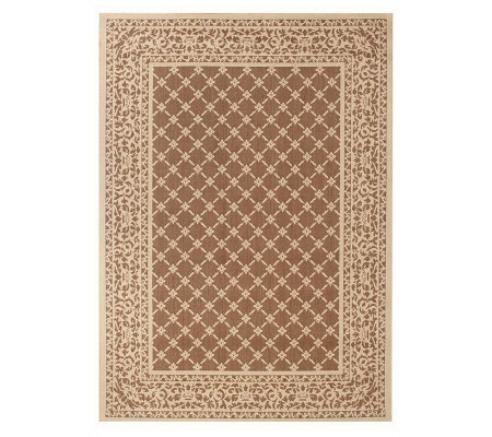 Catalina 5'x7' Indoor/Outdoor Fade Resistant Rug