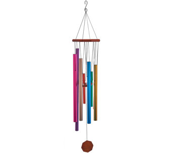 "JW Stannard 40"" Hand Tuned Solid or Hummingbird Wind Chime - M49696"
