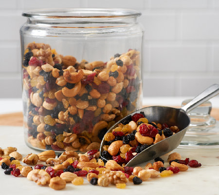 Germack (6) 15.5 oz. Jars of Nuts Around the World Mix