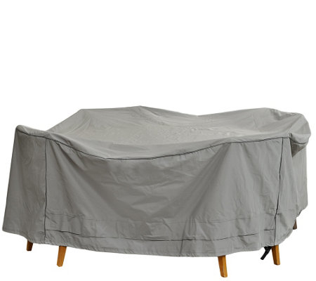 Season Sentry Supersize Round All Weather Patio Cover by ATLeisure