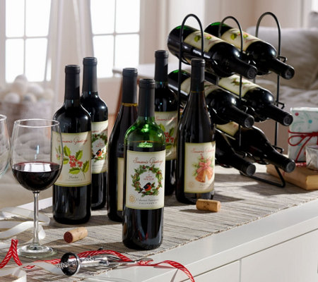 Vintage Wine Estates 12 Bottle Holiday Wine Set
