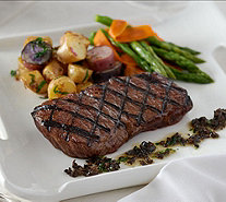 Rastelli Market Fresh (8) 6 oz. Black Angus Sirloin Steaks Auto-Delivery - M53897