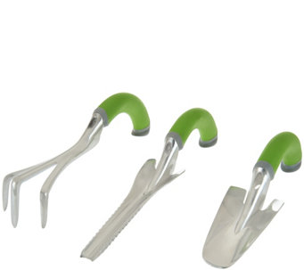 Radius Set of 3 Garden Trowel, Weeder, and Cultivator - M48698