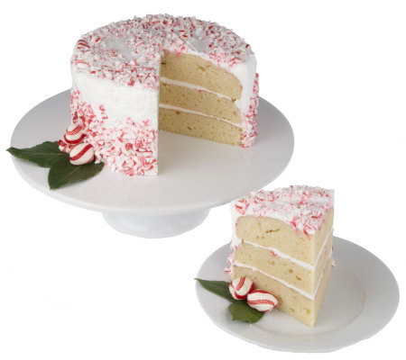Paula Deen's 3.25 lb. Holiday Peppermint Layer Cake