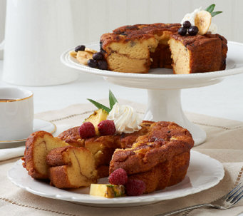 My Grandma's (2) 28 oz. Pineapple & Blueberry Coffee Cakes - M47499