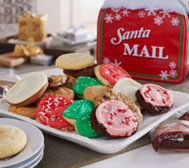Cheryl's 30 pc. Full-Size Cookies in Holiday Mailbox Tin