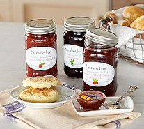 Sarabeth's (3) 18 oz. Mason Jar Holiday Preserves - M51899