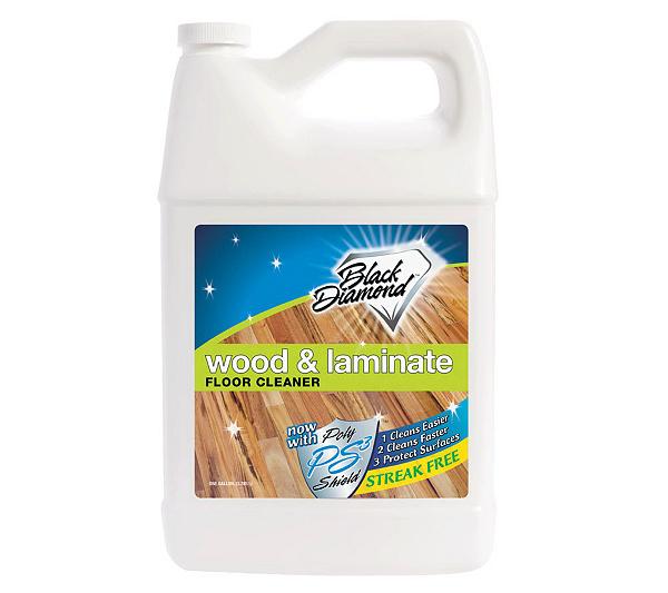Black Diamond Wow! Wood and Laminate Floor Cleaner - 1 Gallon - Page 1 —  QVC.com - Black Diamond Wow! Wood And Laminate Floor Cleaner - 1 Gallon