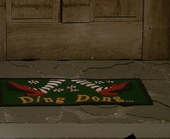 warner bros. wizard of oz doormat — qvc