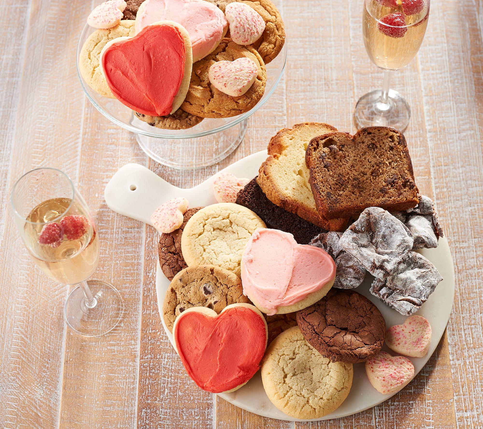 Perfekt Cherylu0027s 50 Piece Valentine Bakery Sampler U2014 QVC.com