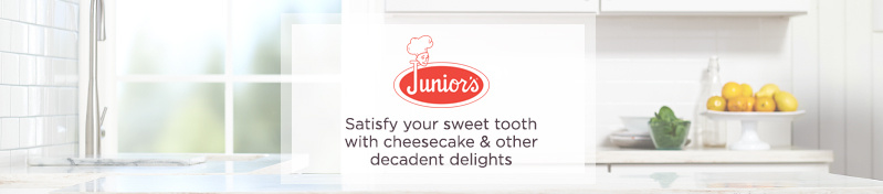 Junior's Satisfy your sweet tooth with cheesecake & other decadent delights