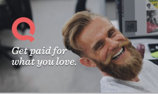 Get paid for what you love.
