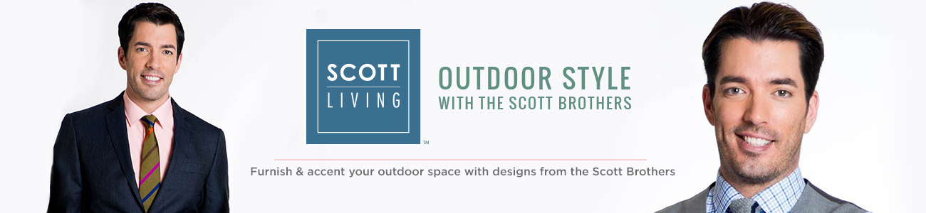 Scott Living. Furnish & accent your outdoor space with designs from the Scott Brothers