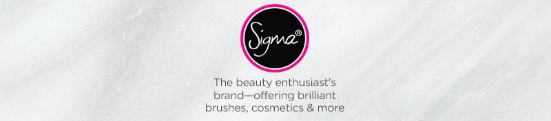 Sigma Beauty The beauty enthusiast's brand—offering brilliant brushes, cosmetics & more