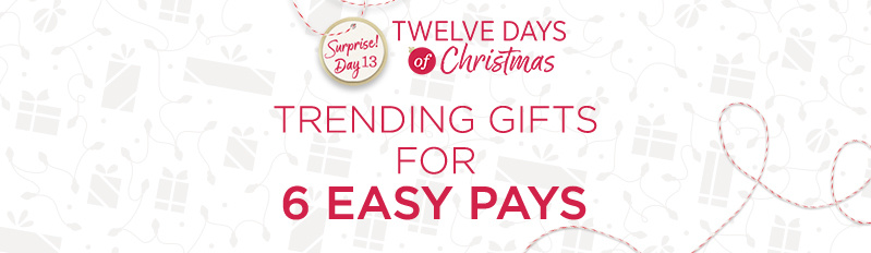 Twelve Days of Christmas Surprise! Day 13 — Trending Gifts on Easy Pay®