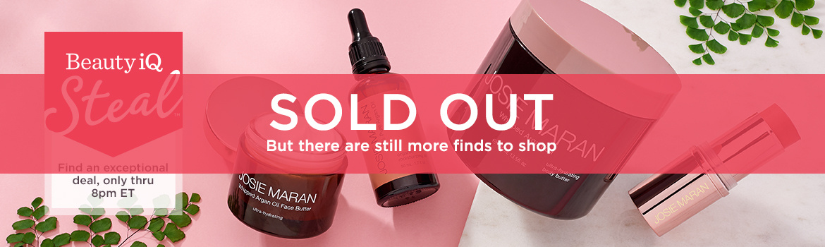 Beauty iQ Steal™ - Find an exceptional deal, only thru 8pm ET — Josie Maran Whipped Argan Oil Buttery Soft Skin 4 Piece Kit