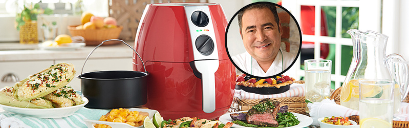 Emeril TSV® Presale — Shop this air fryer with NEW 2-in-1 basket under $90