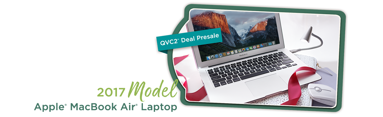 2017 Model Apple® MacBook Air® Laptop
