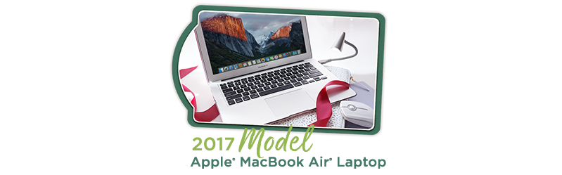 2017 Model Apple® MacBook Air® Laptop