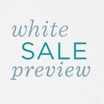 White Sale Preview — Room Refreshers — Shop early & enjoy Sale Prices on select bedding