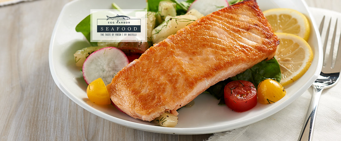 Egg Harbor (8) 6 oz. Faroe Island Salmon Filets QVC2 BIG DEAL™