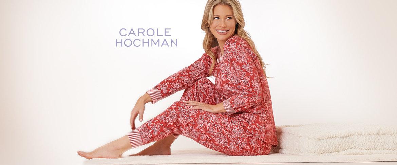 QVC2 Big Deal™ —  Carole Hochman Floral Paisley Interlock Lounge Set