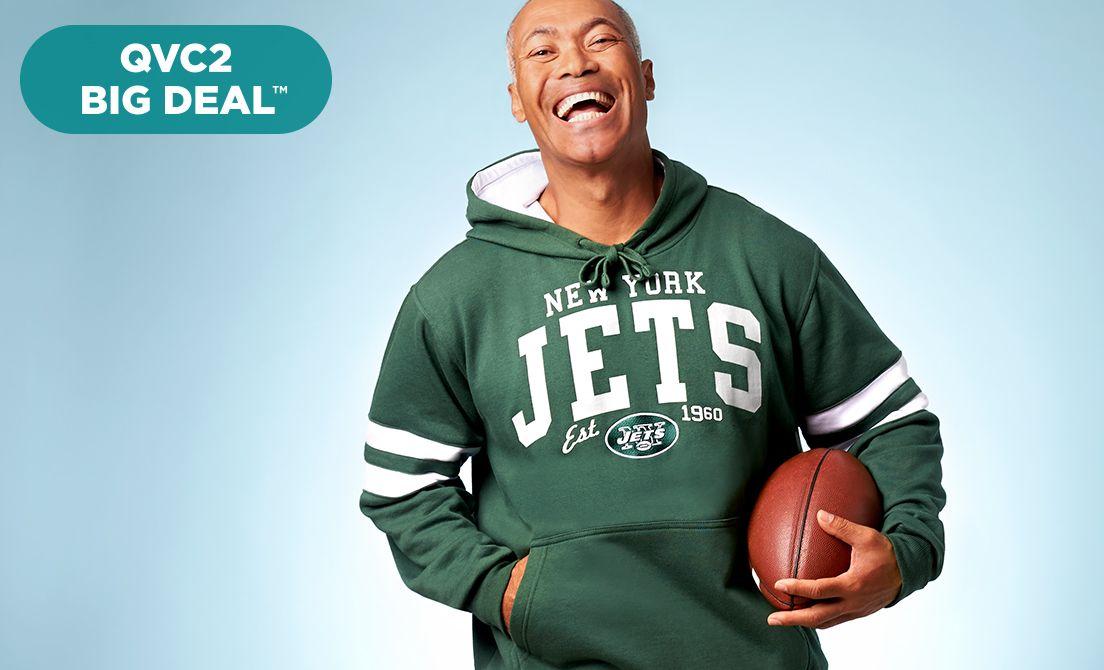 QVC2 Big Deal™ — NFL Men's Fleece Hoodie