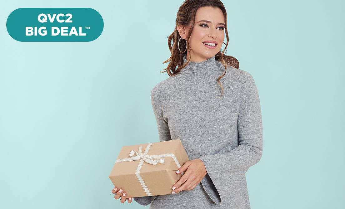 QVC2 Big Deal™ — Du Jour® Sweater Tunic