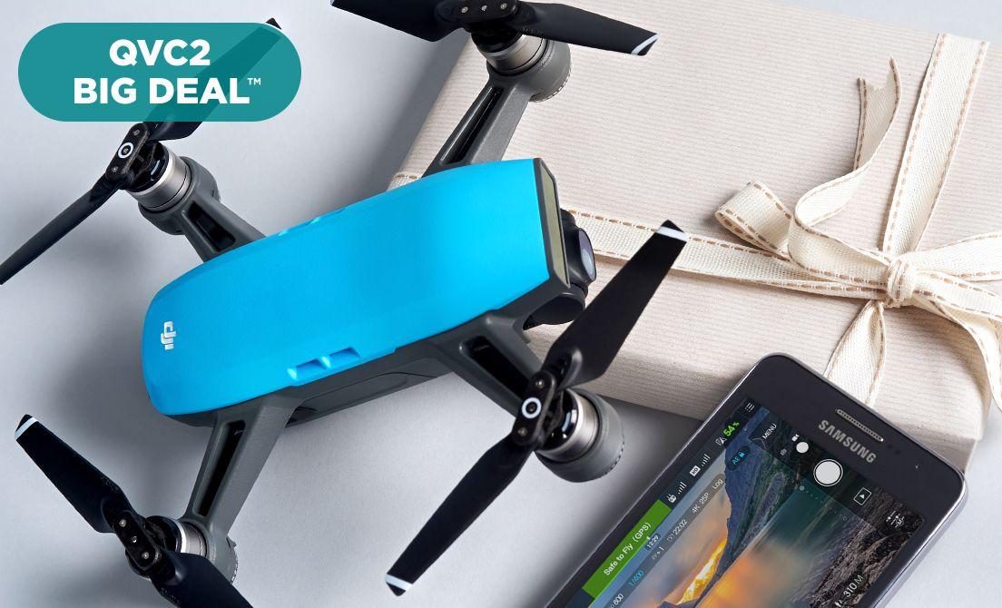 QVC2 Big Deal™ — DJI Spark Drone Kit