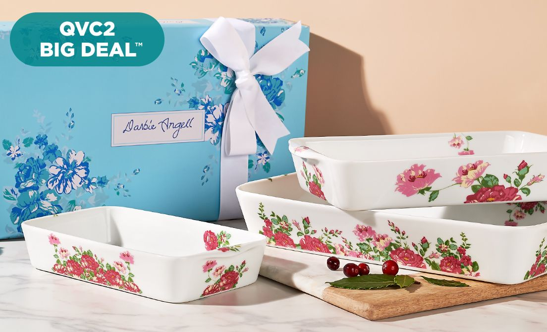 QVC2 Big Deal™ — Darbie Angell Baking Set
