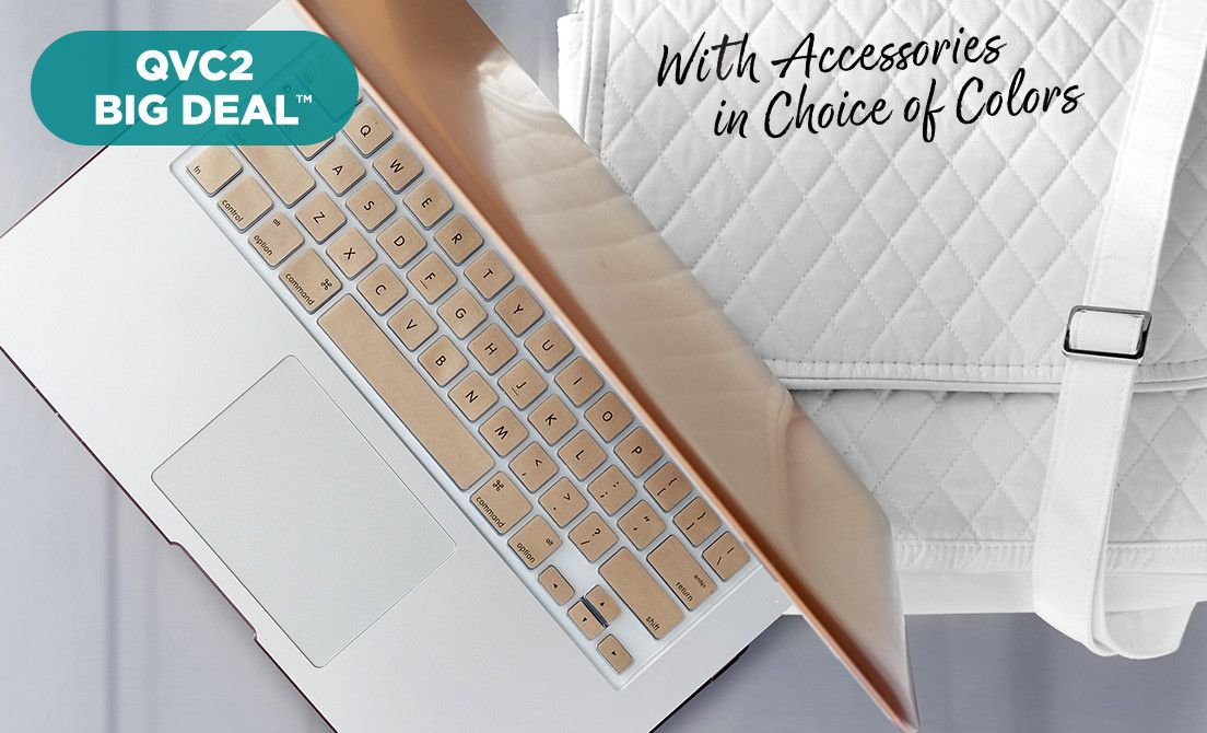 "QVC2 Big Deal™ — MacBook Air® 13"" Laptop — With Accessories in Choice of Colors"