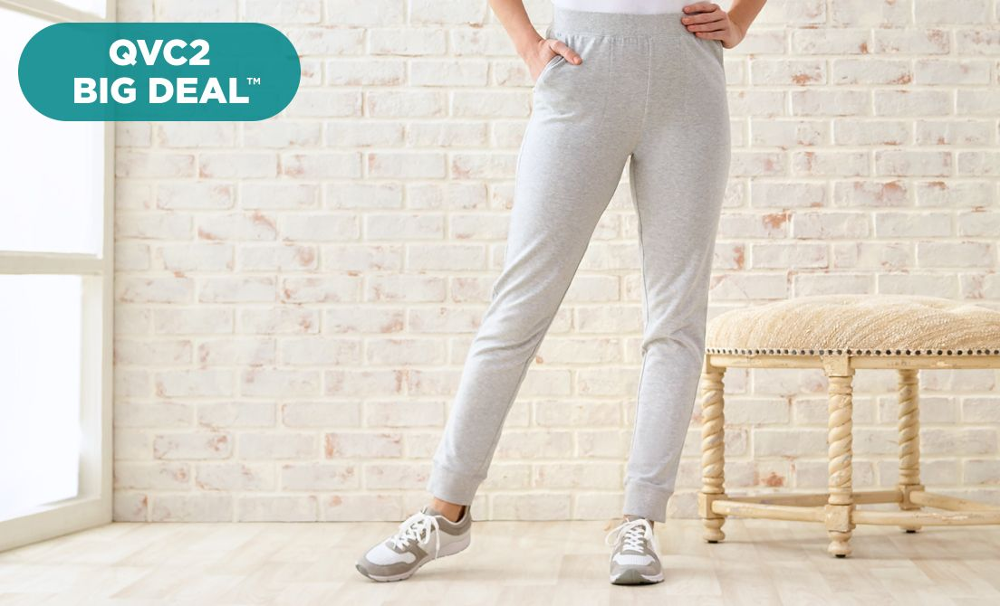 QVC2 Big Deal™ — Denim & Co.® Joggers