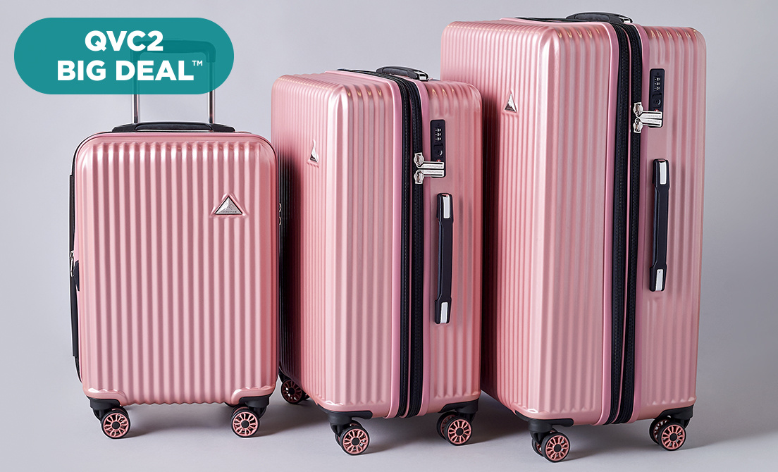 QVC2 Big Deal™ — Triforce Luggage Set