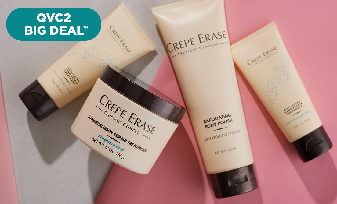 QVC2 Big Deal™ — Crepe Erase 4-Piece Set
