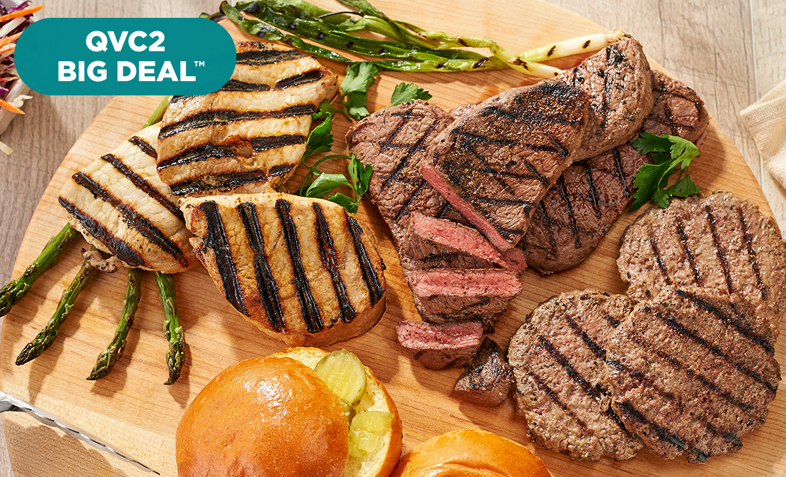 QVC2 Big Deal™ — Rastelli Grilling Package